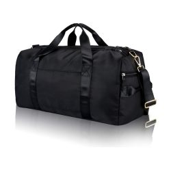 toptopdeal Gym Sports Duffle Bag - Waterproof Travel Duffel Bag with Wet Pocket and Shoes Compartment Overnight Weekender Bag for Women and Men