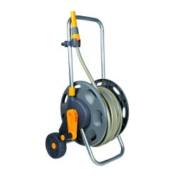 toptopdeal Hozelock 60m Assembled Hose Cart with 50m Hose