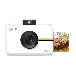 toptopdeal KODAK Step Digital Instant Camera with 10MP Image Sensor (White) ZINK Zero Ink Technology, Selfie Mode, Auto Timer, Built-In Flash & 6 Picture Modes