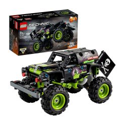 toptopdeal LEGO 42118 Technic Monster Jam Grave Digger Truck Toy to Off-Road Buggy Pull Back 2-in-1 Building Set