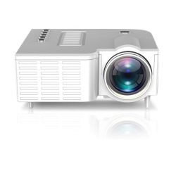 toptopdeal MAZ 1080P Home Theater Movie Video Projector Led Micro Projector 4K Video Support WiFi Projector-As Shown
