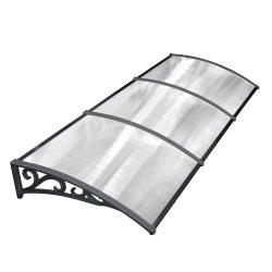 toptopdeal MVPOWER Door Canopy Awning Window Rain Shelter Cover for Front Door Porch Blackjpg