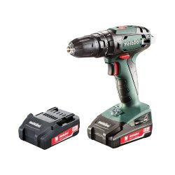 toptopdeal-Metabo Power Tools MPTSB18P2 Combi Drill with 2 x 2 A Li-Ion Battery 18 V Green