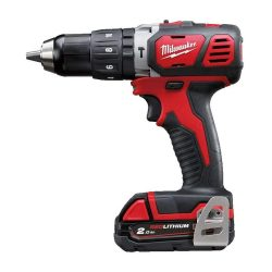 toptopdeal Milwaukee M18BPD-202B 18v Combi Drill with 2 x 2-0Ah Batteries- Charger-Bag