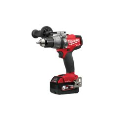 toptopdeal Milwaukee Power Tools M18 ONEPD2 Fuel ONE-Key Combi Drill 18V 2 x 5