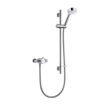 toptopdeal Mira Showers 1-186-001 Minilite Exposed Variable (EV) Mixer Shower- Chrome