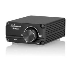 toptopdeal Nobsound 100W Subwoofer Digital Power Amplifier Audio Mini Amp with power supply (Black)