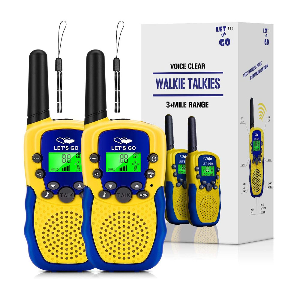toptopdeal Outdoor Hunting Toys for 3-12 Year Old Boys, Tisy Walkie Talkies for Kids Toys for 3-12