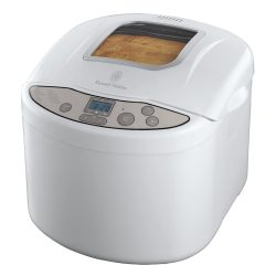 toptopdeal Russell Hobbs Breadmaker with Fast-Bake Function 18036 - White