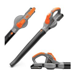 toptopdeal Terratek Cordless Leaf Blower 20V Battery and Charger- Garden Blower lightweight Powerful Electric Cordless Design