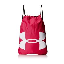 toptopdeal Under Armour Unisex Ozsee Sackpack, Carry-All Gym Rucksack for Men and Women, Running Bag with Chest Clip and Drawstring