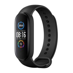 toptopdeal Xiaomi Mi Band 5 Black Health and Fitness Tracker