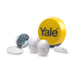toptopdeal Yale YES-ALARMKIT Essentials Alarm Kit- Battery Powere- 5 Piece Kit- Self Monitored- No Contract- Wireless-PIR Movement Sensors- Door - Window Sensor