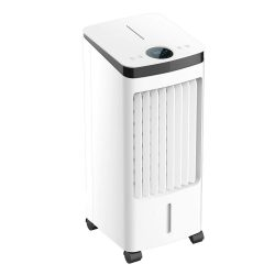 toptopdeal electriQ Slimline Mobile Portable Evaporative Air Cooler Built-in Air Purifier and Humidifier