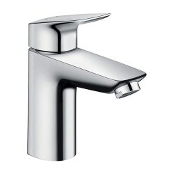 toptopdeal hansgrohe Logis basin mixer tap 100 with pop up waste, chrome 71100000