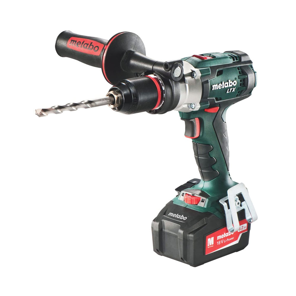toptopdeal-metabo 602192840 SB18LTX 18v Combi Drill-Bare Unit-602192840 + case, 18 V Green 1