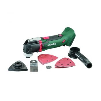 toptopdeal uk metabo 613021890 613021840 MT18LTX 18 V Li-Ion Cordless Multi-Tool Bare Unit with Case-Green