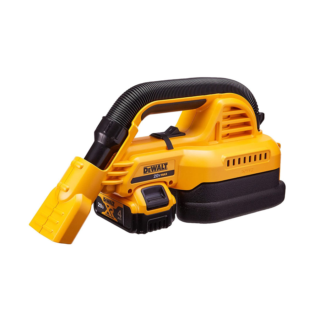 Toptopdeal DEWALT 20V MAX Cordless Vacuum Kit, Wet-Dry, Portable, 1-2-Gallon (DCV517M1)