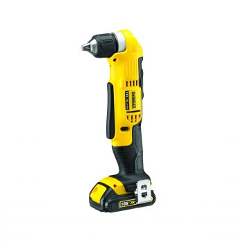 Toptopdeal-DeWalt 18V XR Lithium-Ion Cordless 2-Speed Angle Drill with Batteries