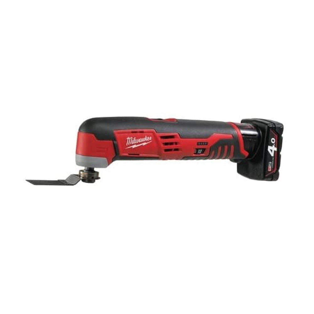 Toptopdeal uk Milwaukee M12 Compact Multi-Tool with 2 x 4.0Ah Li-ion Batteries Charger