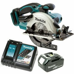 Toptopdeal uk makita-dss501-18v-lxt-li-ion-circular-saw-136mm-with-1-x-5ah-battery-charger