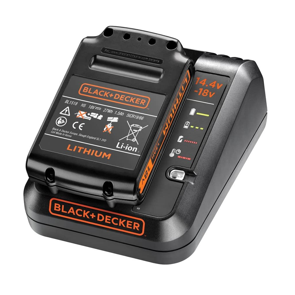 toptopdeal BLACK+DECKER 14-4-18 V Cordless Fast Charger for Power Tools