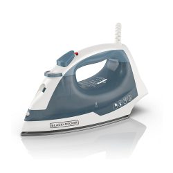 toptopdeal BLACK+DECKER IR40V Easy Steam Compact Iron, Other, Blue