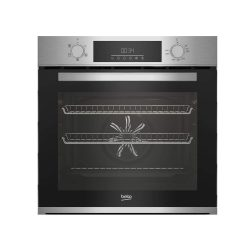 toptopdeal-Beko BBAIF22300X 66L Electric Built-in Single Oven With Steam Cleaning Stainless Steel