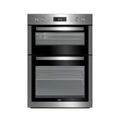 toptopdeal-Beko BDF26300X Built In Double Oven - Stainless Steel