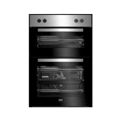 toptopdeal-Beko BRDF21000X Built In Double Oven Stainless Steel [Energy Class A]