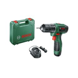toptopdeal-Bosch 06039A2172 EasyDrill 1200 Cordless Drill Driver with 12 V 1 5 Ah Green