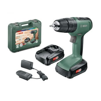 toptopdeal Bosch DIY tools 06039C8171 UniversalImpact 18 Cordless Combi Drill with Two 18 V Lithium-Ion Batteries
