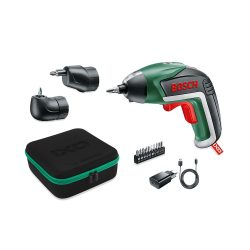 toptopdeal Bosch IXO V Cordless Screwdriver, with Charger and 10 Screw Bits, Green, 06039A8002, 3