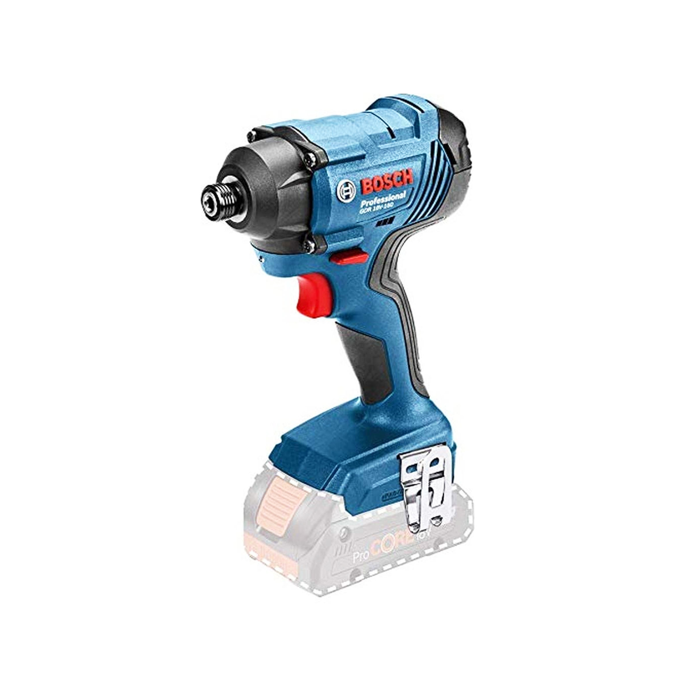 toptopdeal-Bosch Professional 18 V System Cordless Impact Wrench GDR 18V-160 (Without Batteries and Charger 1 2 L-Boxx Insert Device Box)
