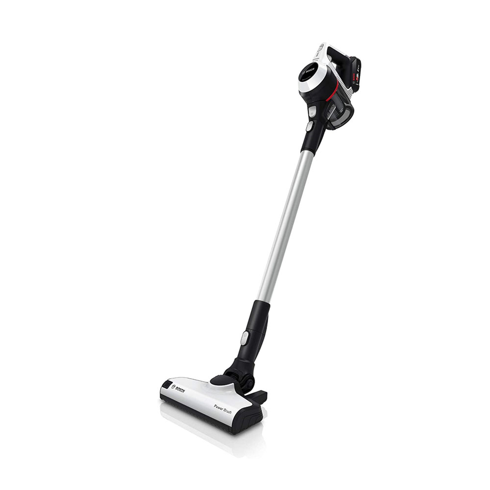 toptopdeal Bosch Unlimited Serie 6 – Rechargeable Cordless & Lightweight Vacuum Cleaner for Multiple Surfaces with Two Battery Packs, Crevice Tool, Mattress