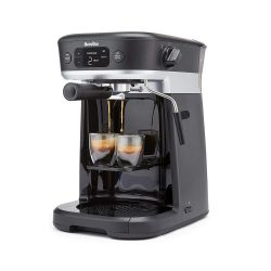toptopdeal-Breville All-in-One Coffee House, Espresso, Filter and Pods Coffee Machine with Milk Frother, Dolce Gusto Compatible [VCF117]