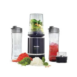 toptopdeal-Breville Blend Active Pro Food Prep Personal Blender with Mini Food Processor and Spice Grinder