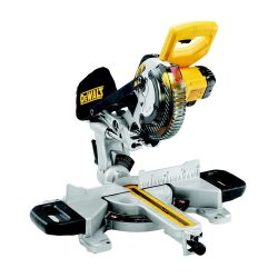 toptopdeal DEWALT DCS365N-XJ XR 184 mm Mitre Saw with XPS-Bare Unit, 590 W, 18 V, Yellow