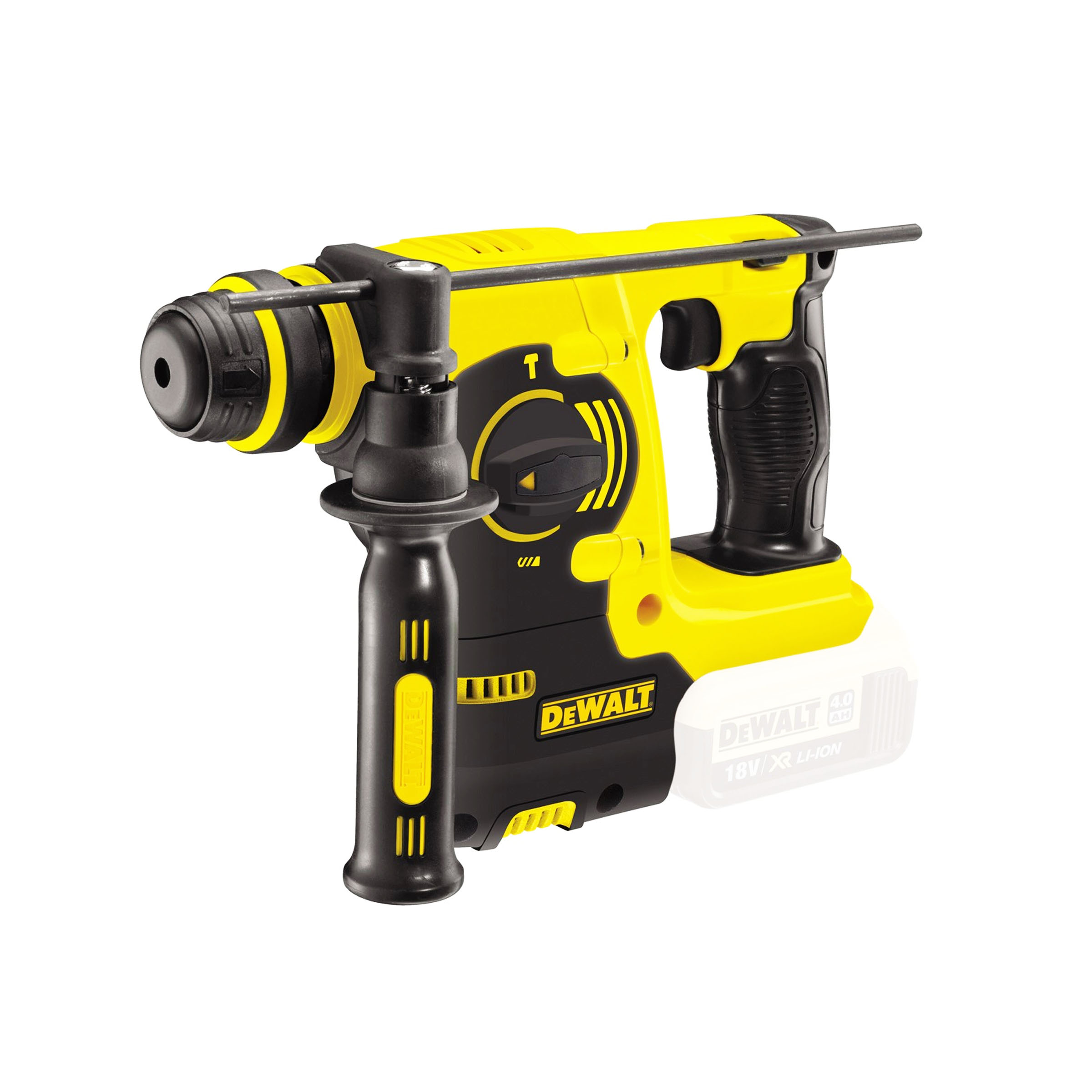toptopdeal-DeWalt 18V XR Lithium-Ion SDS Plus Body Only Rotary Hammer Drill