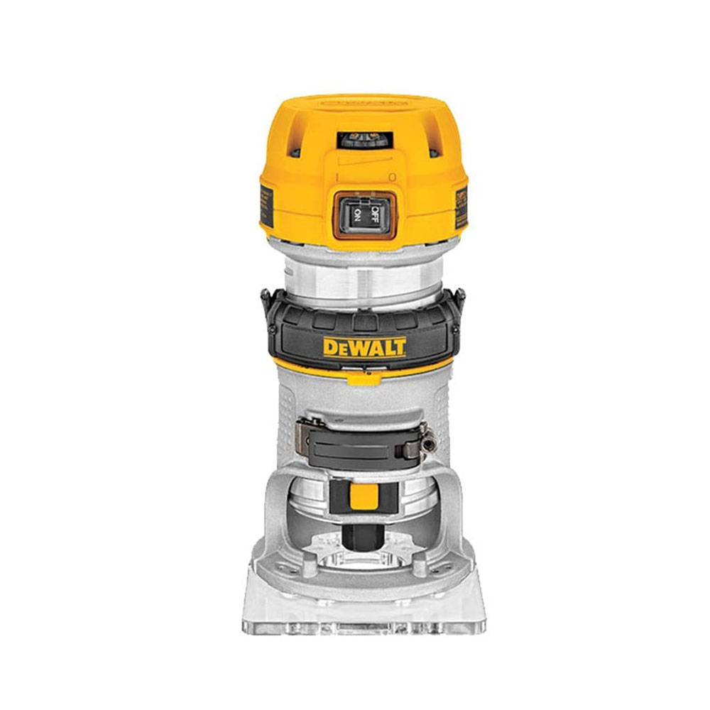 toptopdeal DeWalt D26200L 115V, 50Hz, 900W 1-4-inch 8mm Compact Fixed Base Router
