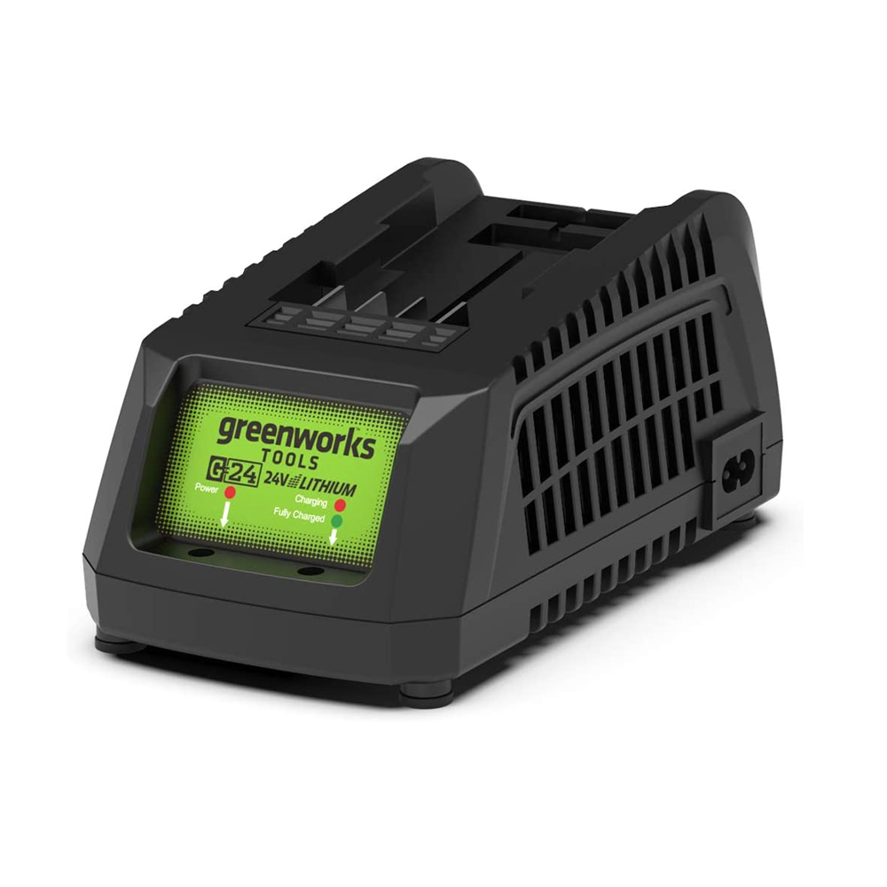 toptopdeal Greenworks Tools 29827 24V Battery Charger