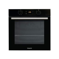 toptopdeal-HOTPOINT SA2540HBL 8 Function Electric Built-in Single Oven - Black