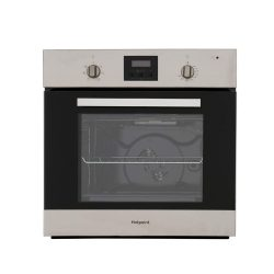 toptopdeal-Hotpoint AOY54CIX Built In Electric Single Oven - Stainless Steel [Energy Class A]