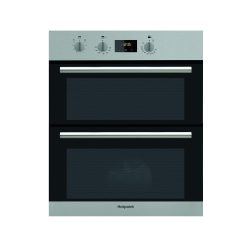 toptopdeal-Hotpoint DU2540IX B Rated Built-Under Electric Double Oven - Stainless Steel [Energy Class B]