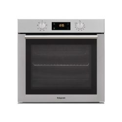 toptopdeal-Hotpoint SA4544HIX 8 Function Electric Built-in Single Oven - Stainless Steel