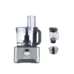 toptopdeal-Kenwood MultiPro Classic Food Processor, 3 Litre Bowl 1 5 Litre Thermo-resist Glass Blender