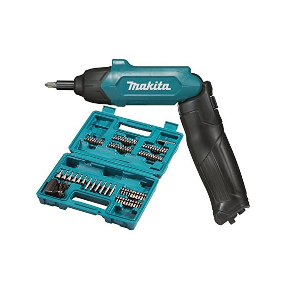 toptopdeal Makita DF001DW Screwdriver Complete with Built-in Battery, 6 W, 3