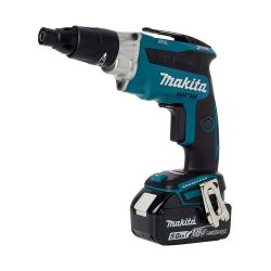 toptopdeal Makita DFS251RTJ TEK Screwdriver, 18 V, Blue