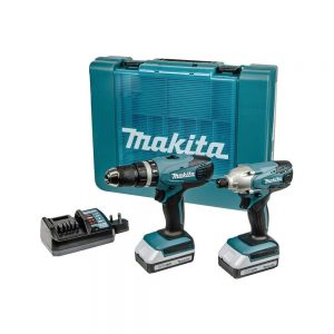 toptopdeal Makita DK18015X1 Combo Kit-Multicolour, 18 V