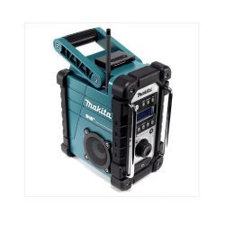 toptopdeal-Makita DMR110 Li-ion DAB DAB Job Site Radio Batteries and Charger Not Included